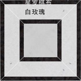 组合拼花(星罗棋布,白玫瑰)