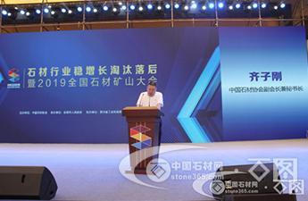 齊子剛:石材行業要加強自律協調 加快實施淘汰落后 確保穩定增長