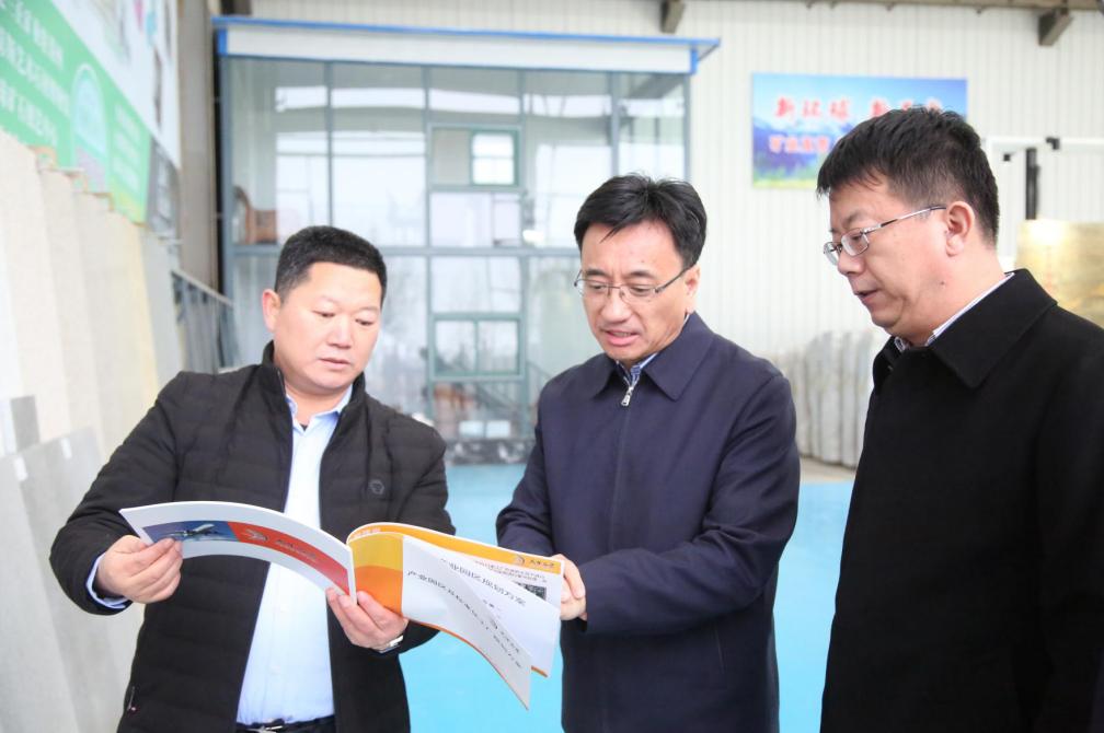 莱州市委书记于宁带队到柞村镇调研督导石材产业,加快推动石材产业高质量发展