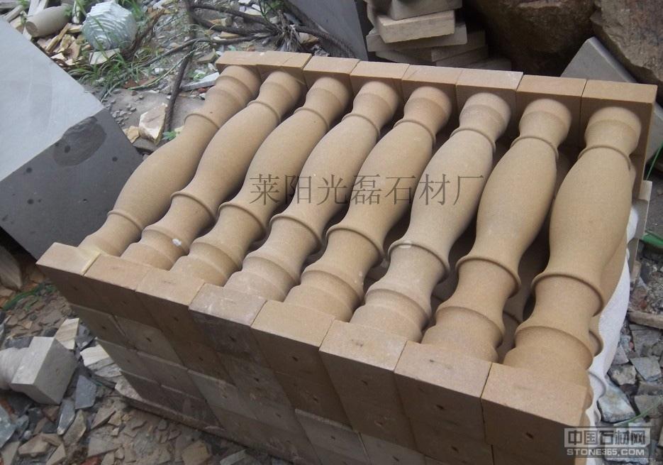 供应各色砂岩花瓶柱