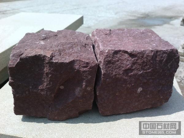 供应各色砂岩小方石