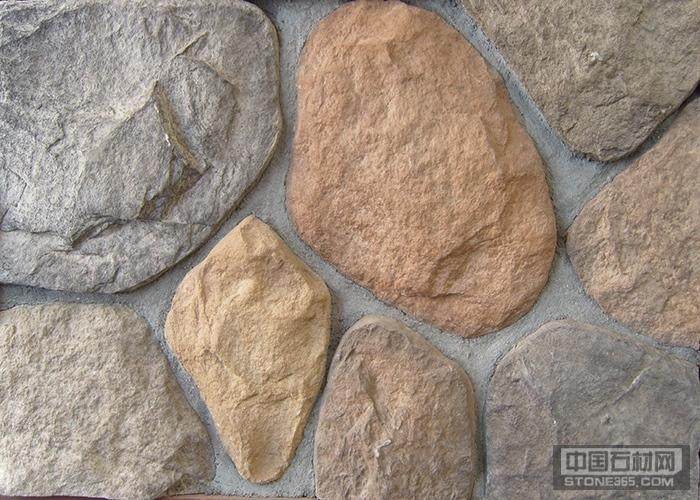 手工大鹅卵石、别墅外墙砖