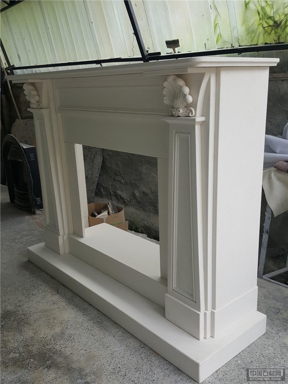 石灰石壁炉架LIMESTONE