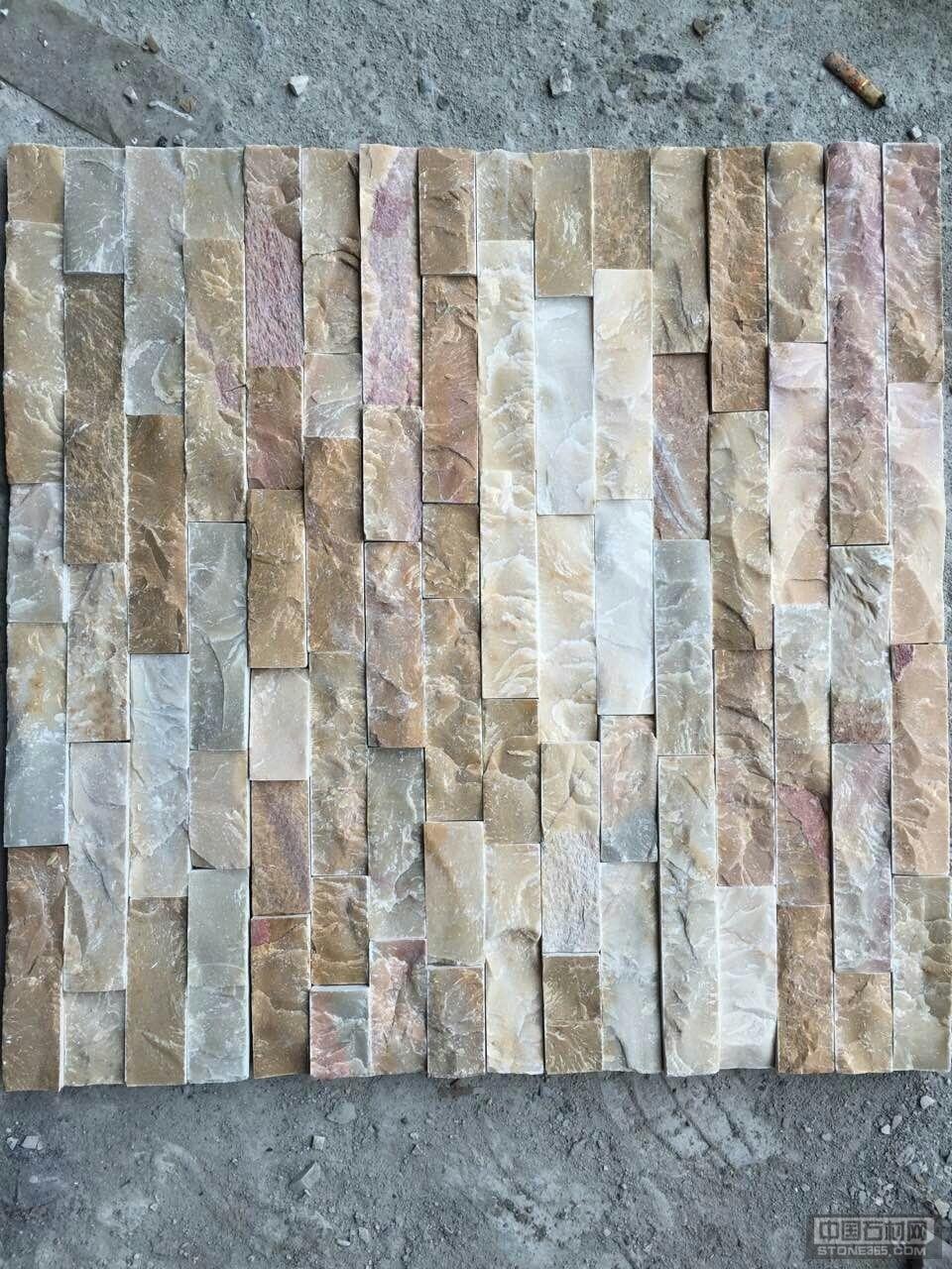 黄木纹文化石胶黏板
