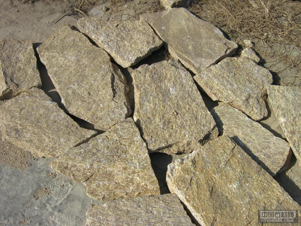 虎皮黄-文化石乱型石