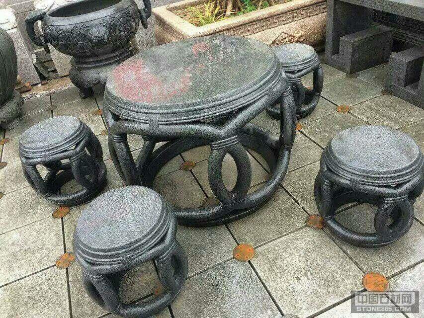 仿古石桌椅