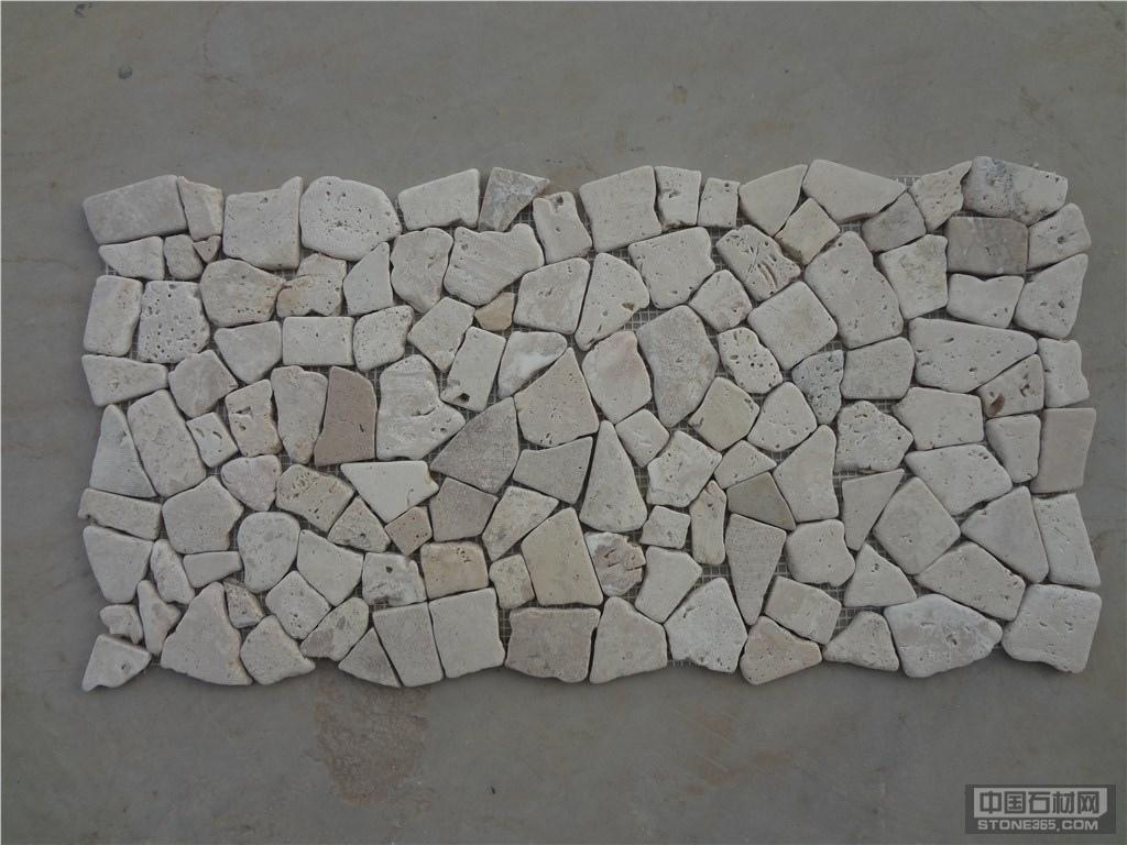 供应洞石马赛克卵石网片