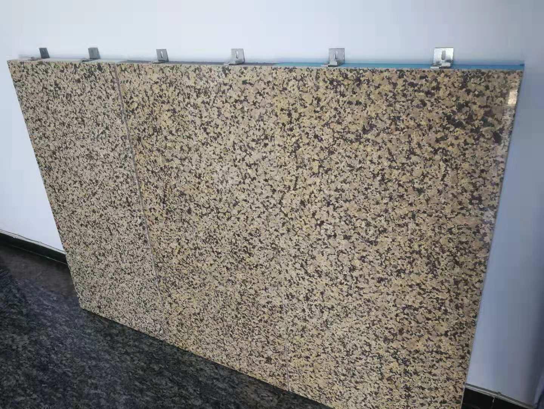 金鉆麻超薄石材保 溫復合一體板