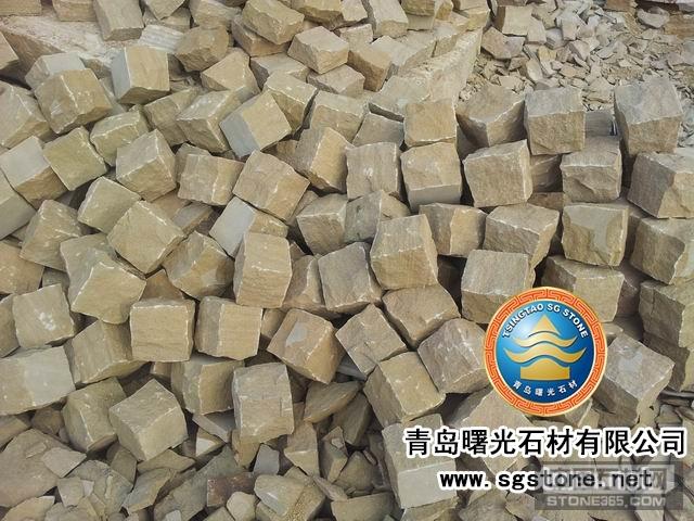 供应黄砂自然面块石