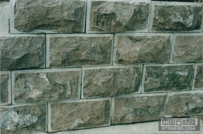 青石蘑菇石、青石墙面石、青石砖