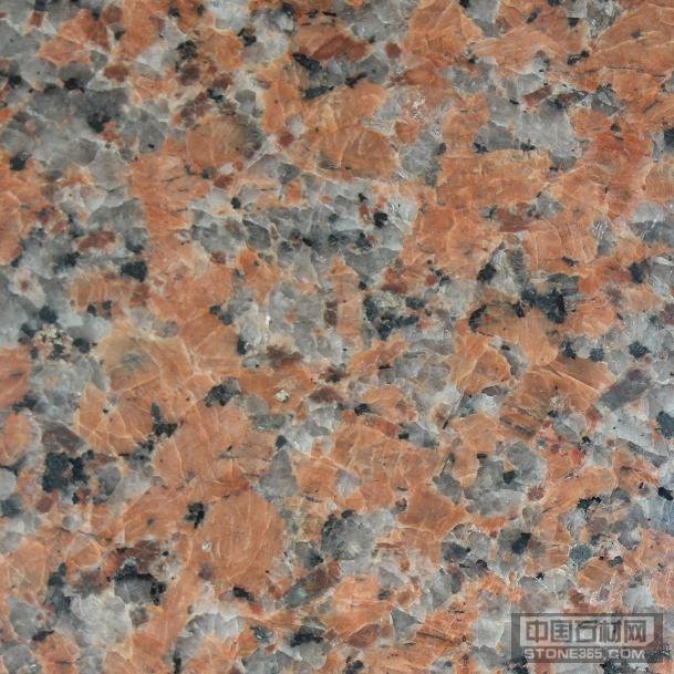 枫叶红G562岑溪红色花岗岩