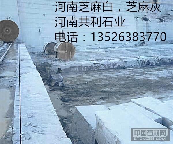 芝麻白石材厂,河南芝麻白石材