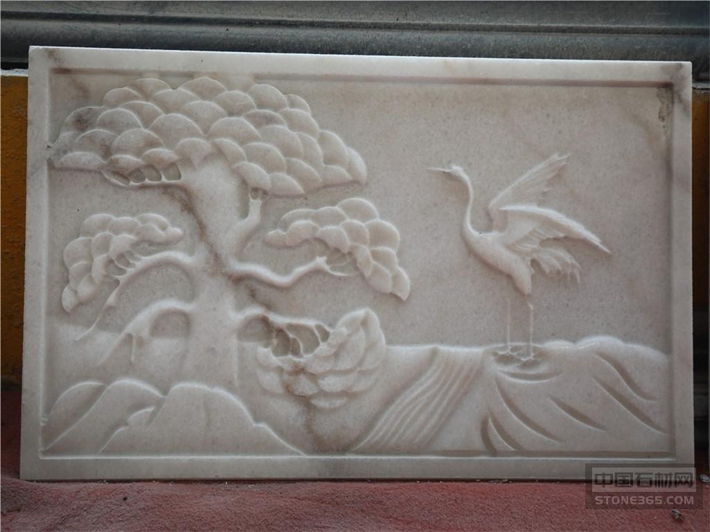广西白大理石雕刻工艺品