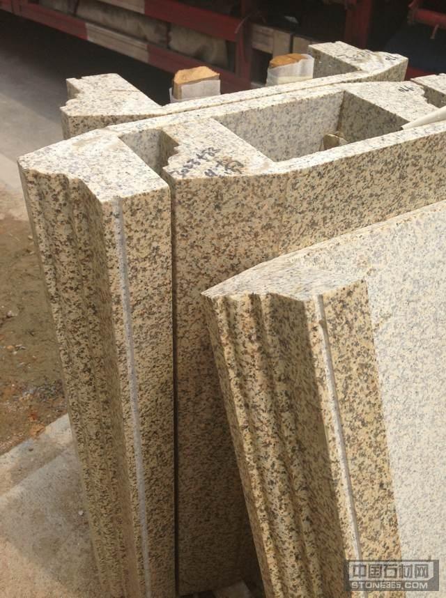 卡拉麦里金线条 异型石材
