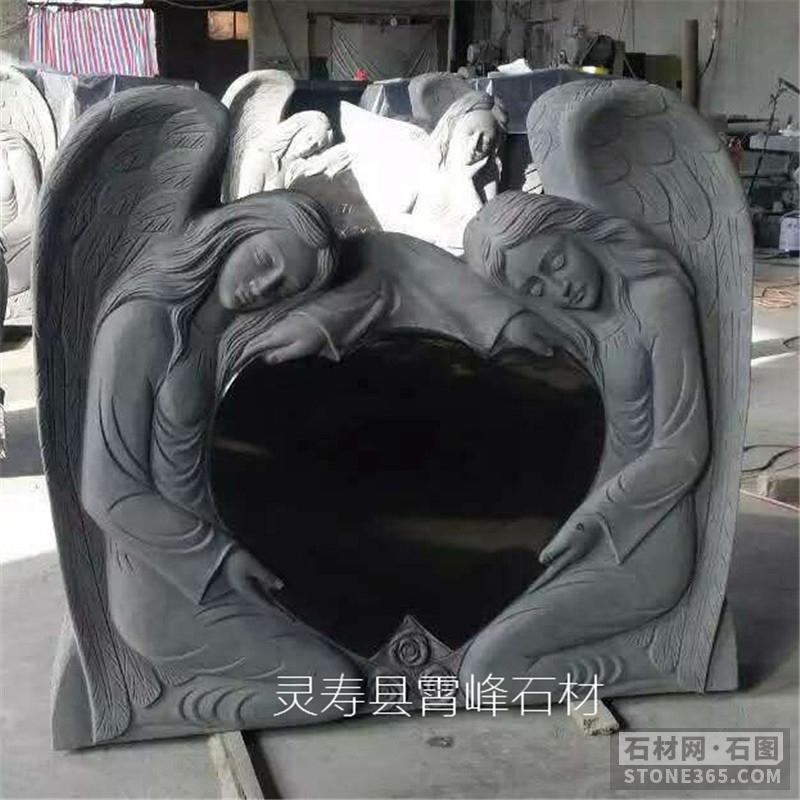 厂家批发定做山西黑一级墓碑