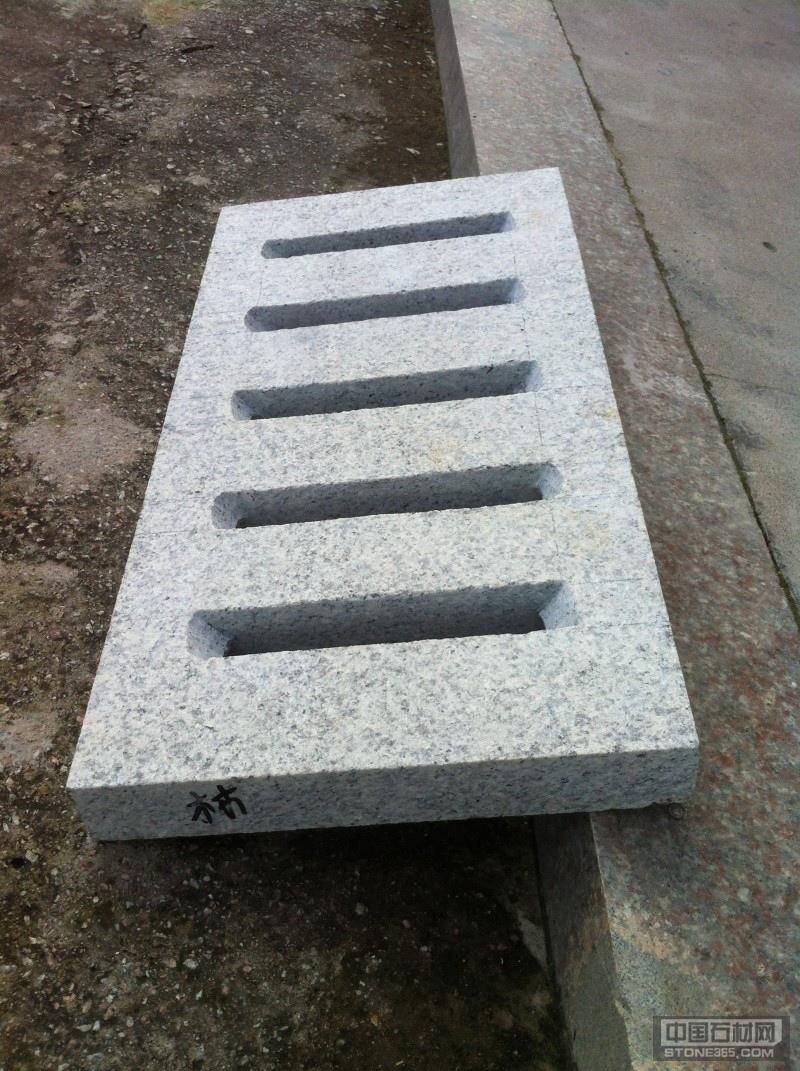 花岗岩制品异型石材下水道石盖