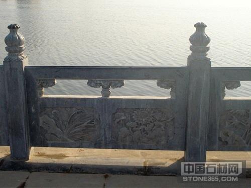 石栏杆石桥扶手栏板
