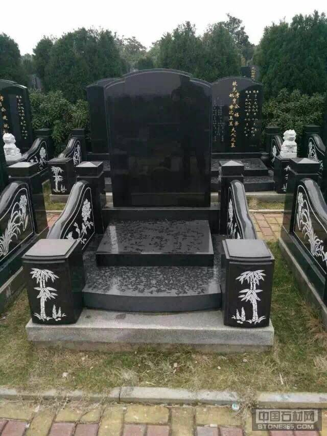 供应中国黑墓碑石