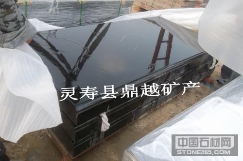 中国黑墓碑价格山西黑花岗岩墓碑