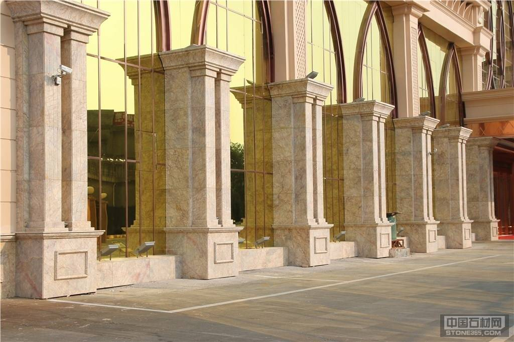 大理石罗马柱大理石圆柱