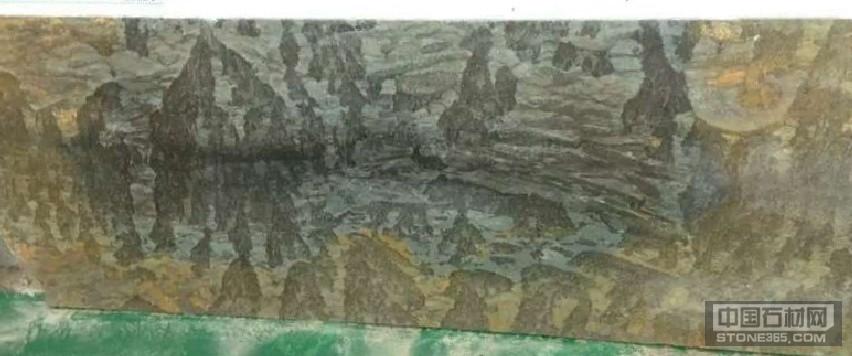山水画大理石