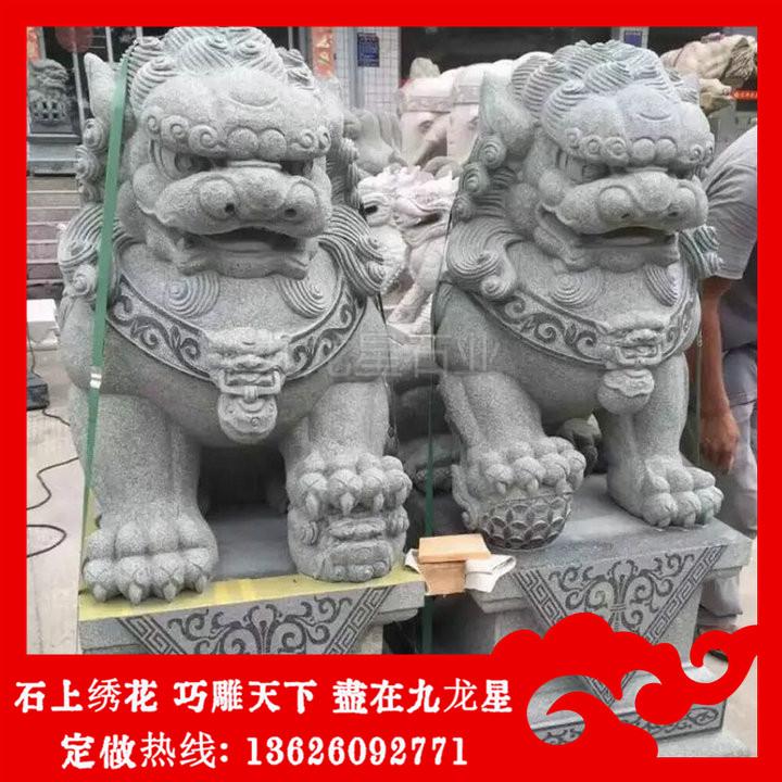 哪里有卖石狮子 石狮子价格图片