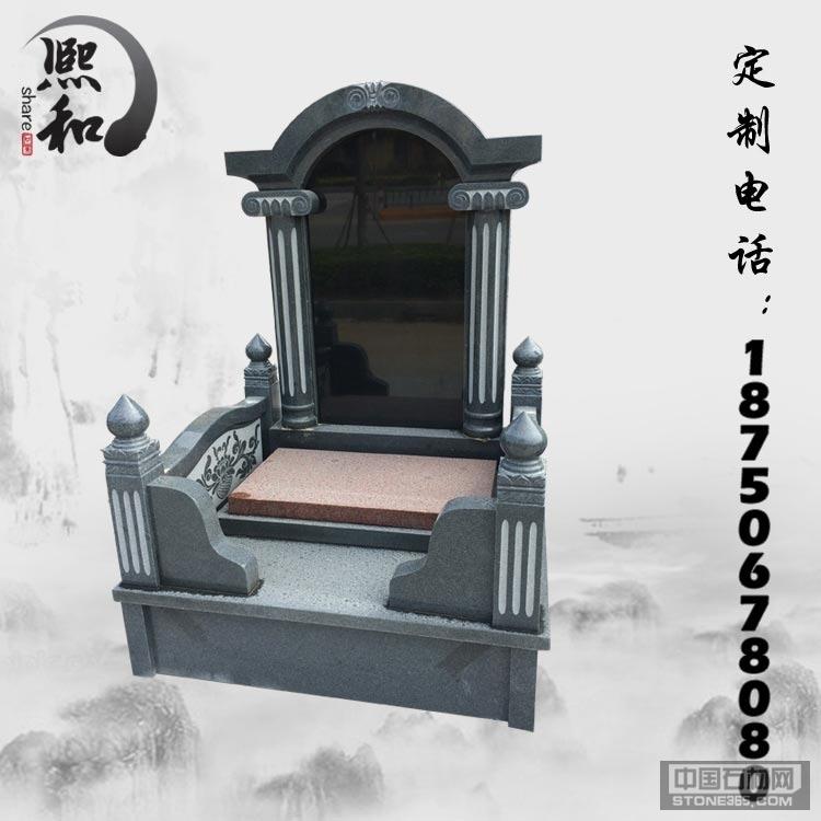 惠安墓碑石材厂 雕刻卧式墓碑石