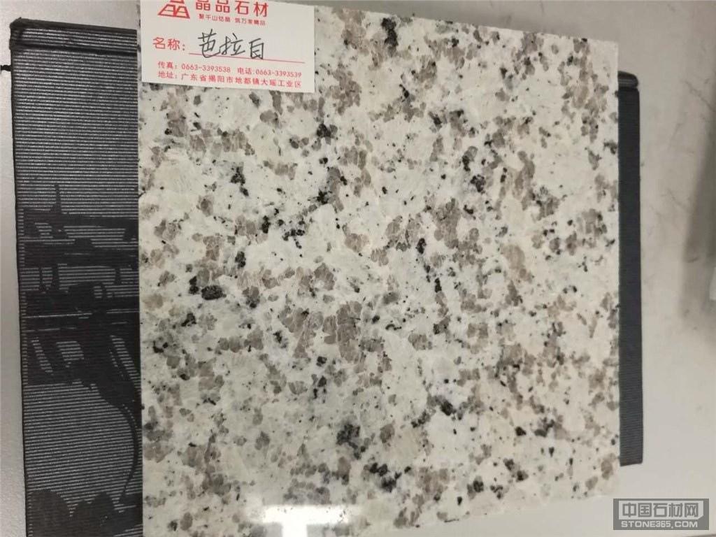 广东芭拉白石材 花岗岩