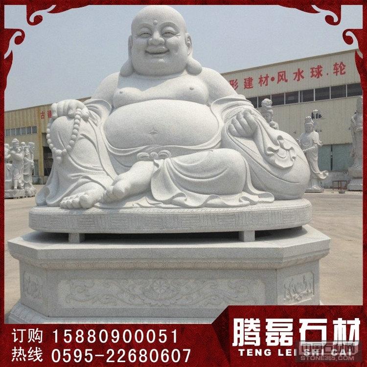 优质汉白玉石雕弥勒佛雕刻厂家