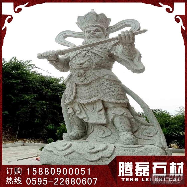 优质青石石雕四大天王雕刻厂家