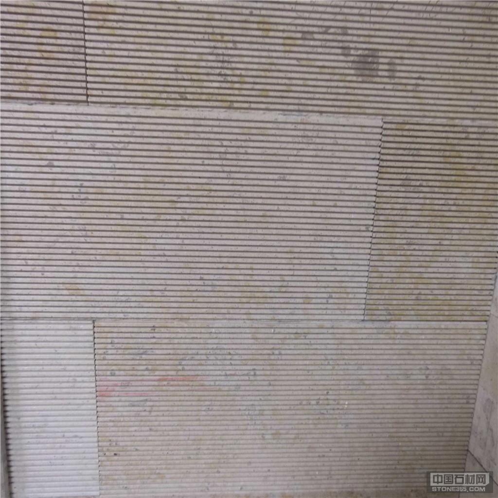 石灰石古典米黄拉丝面质朴自然