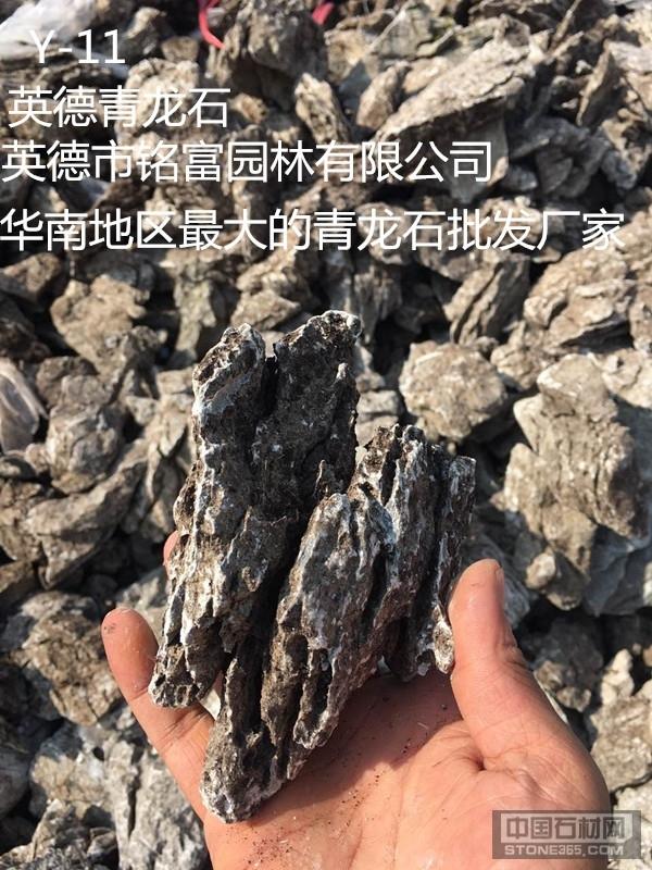 供应青龙石、小英石、假山石材
