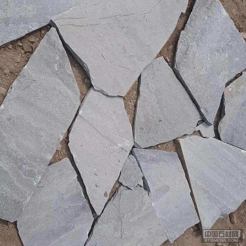 灰石英乱形 石英铺地石 碎拼