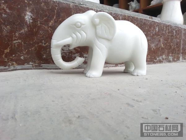 四川汉白玉大象石雕