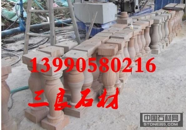 四川黄砂岩栏杆柱