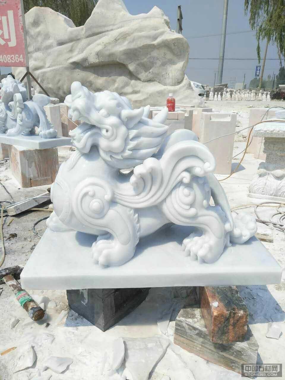 曲阳动物雕刻