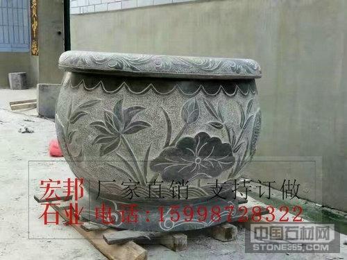 山东石雕水缸