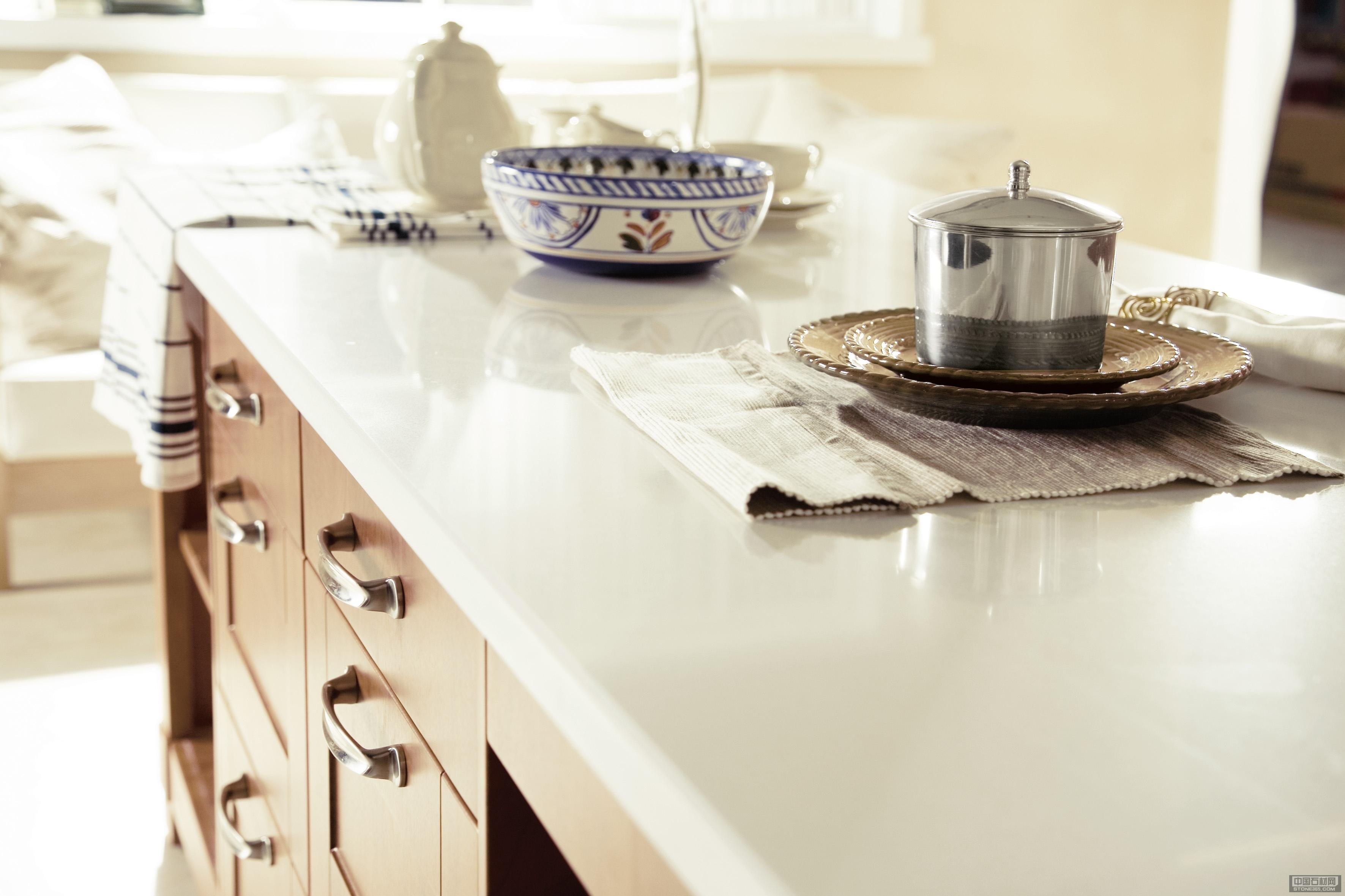 供应人造石厨房台面应用防污易清