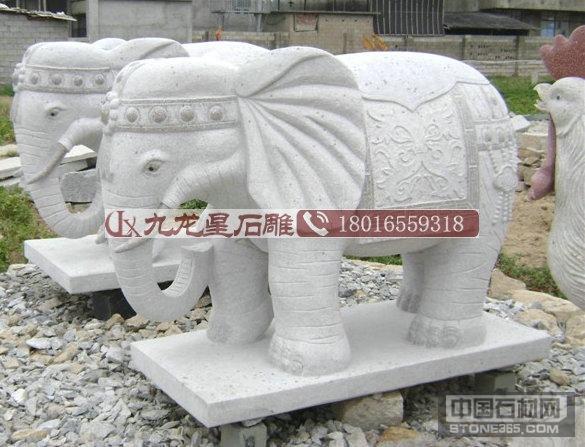 花岗岩石雕大象报价厂家供应