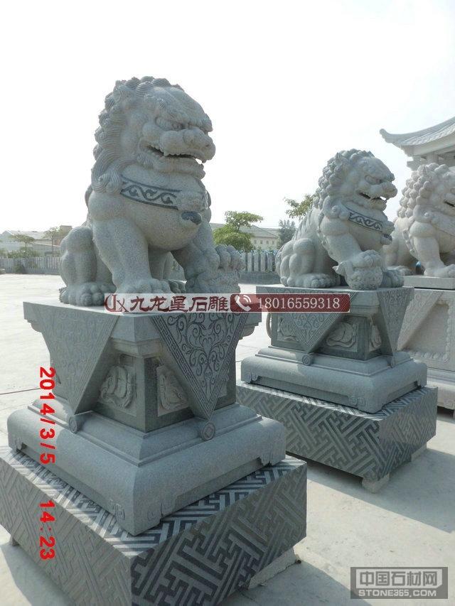 镇宅辟邪石雕北京狮厂家供应