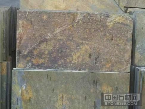 锈石板岩文化石