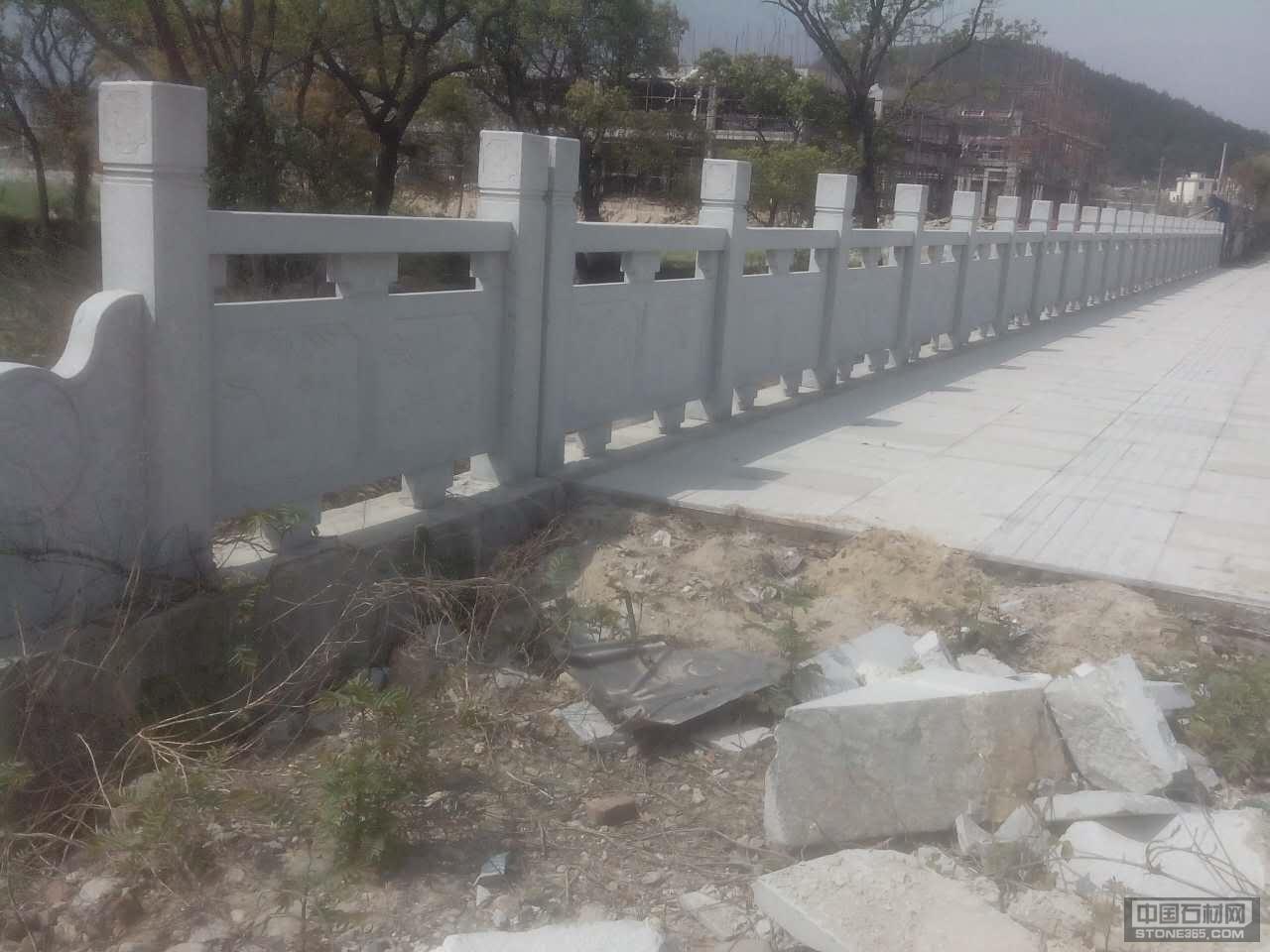 芝麻白芝麻灰石栏杆石栏板