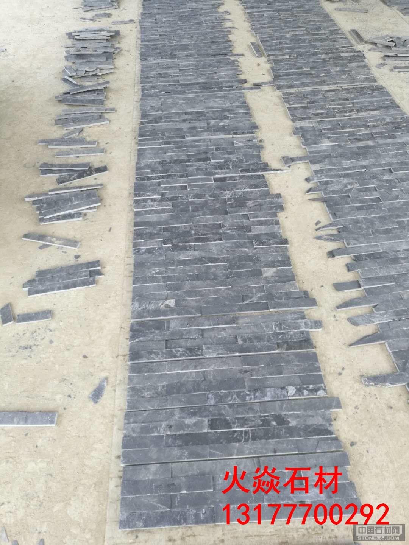 江西青石组合板装贴现场