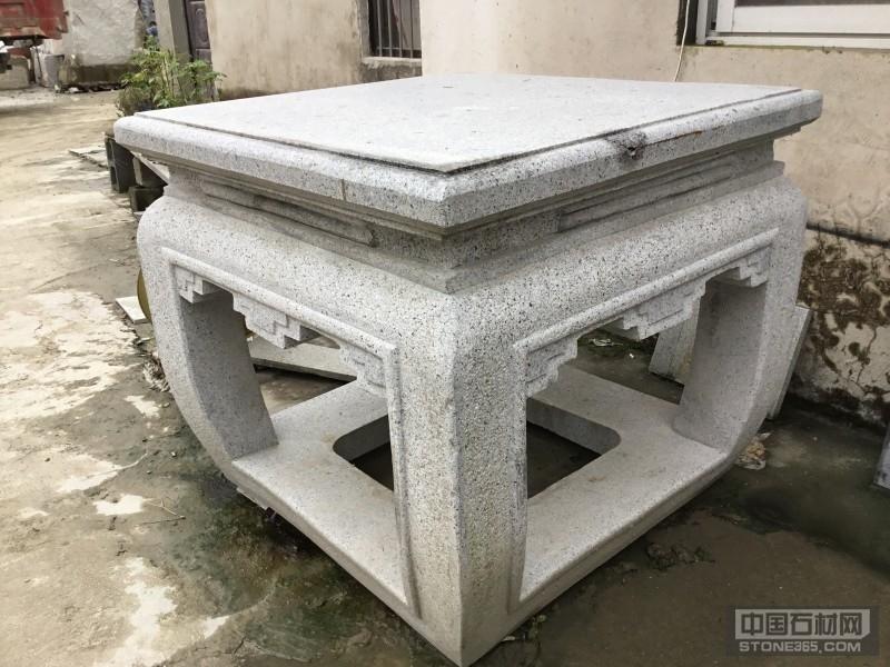 芝麻灰石桌