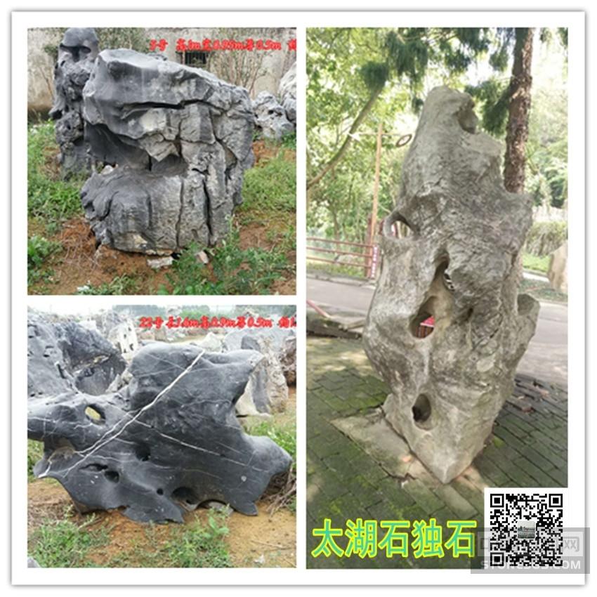 供应公园太湖石独石图片