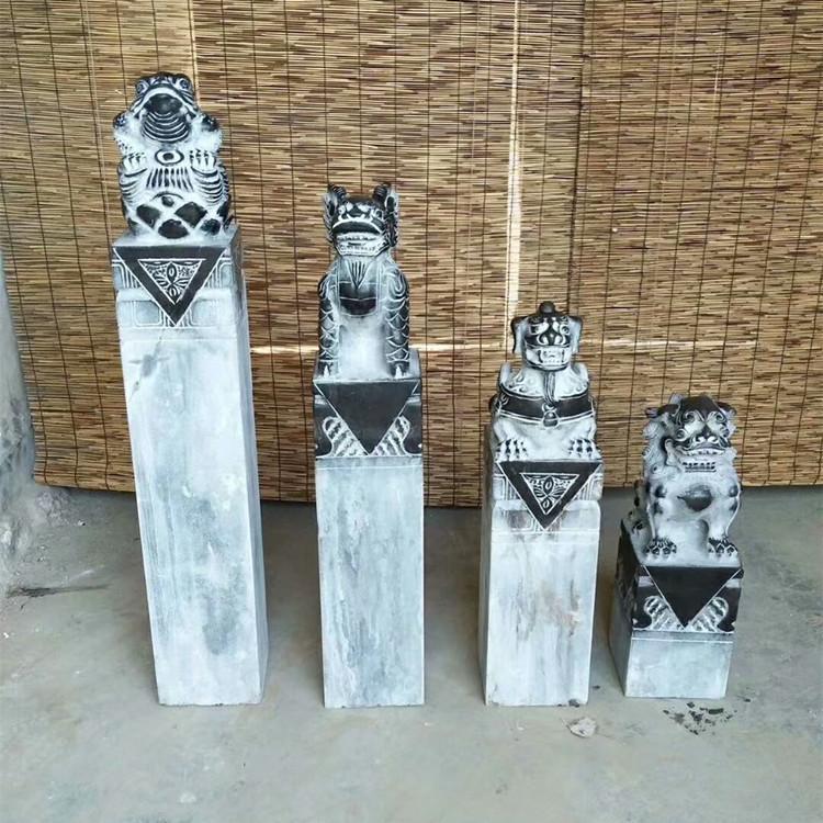 曲阳石雕拴马桩雕刻厂家