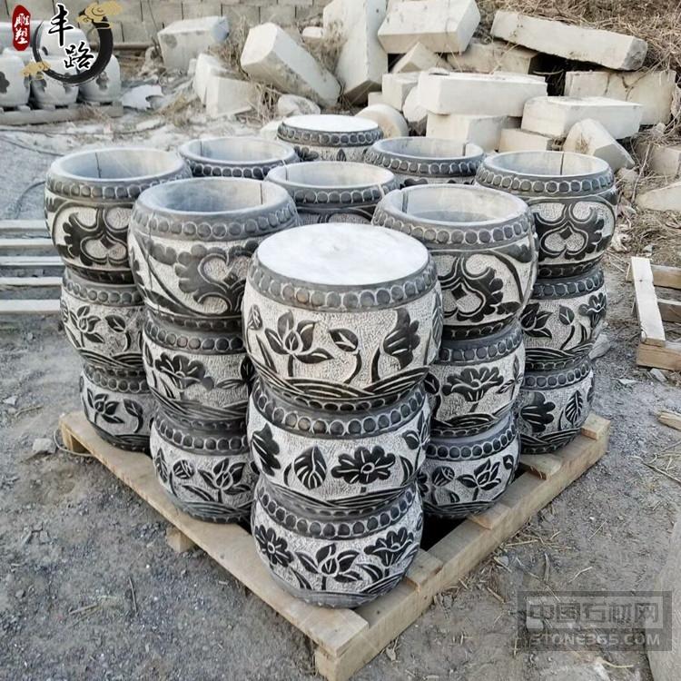 石雕柱顶石大理石柱墩方形基石