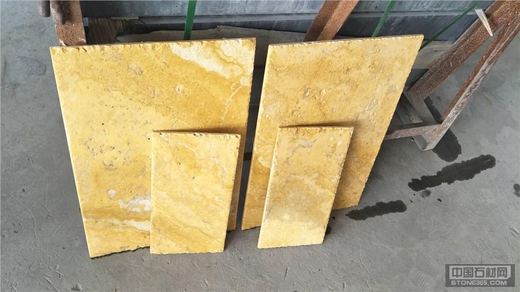供应米黄洞石