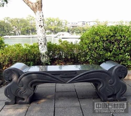 石凳石雕长凳