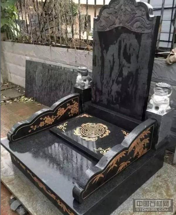 芝麻黑墓碑料